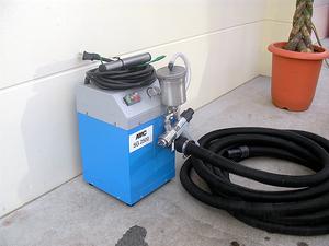 低圧温風塗装機
